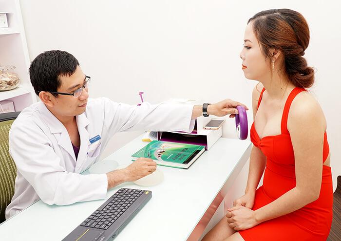 Follow-up examination after surgery