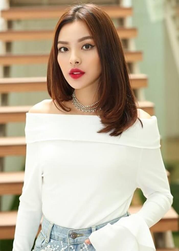 Ms. Tu Hao, the winner of The Face Vietnam season 2