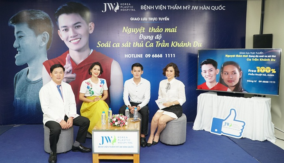 Talk show of Khanh Du, Dr. Tu Dung and Actress Ha Huong on Yeah1 Chanel
